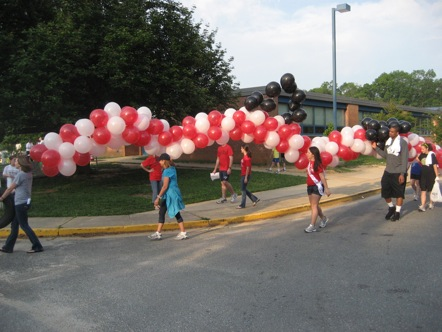 The 5K course winds through the neighboring streets of Mantua. The race starts and finishes in front of Mantua Elementary School.
